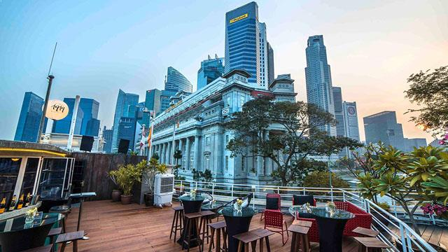 Rooftop bar Singapore Prelude at 1919 Waterboat House in Singapore