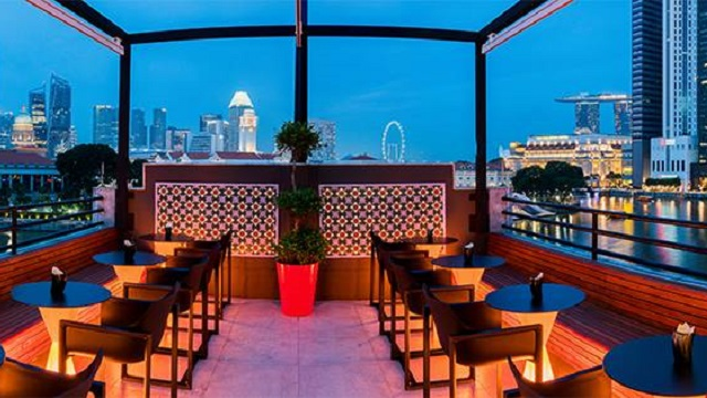 Rooftop bar Singapore Braci in Singapore