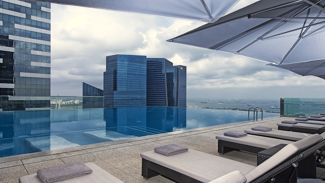 Rooftop bar The Westin Singapore in Singapore