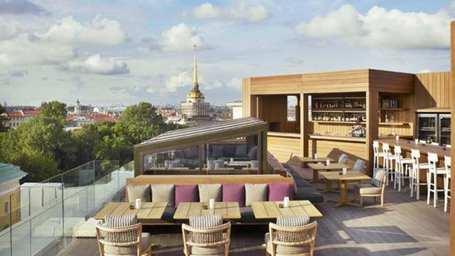 Best Rooftop Bars In St Petersburg 2018 Complete With All
