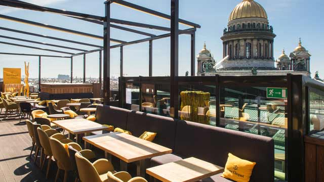 2 Best Rooftop Bars In St Petersburg 2019 Update