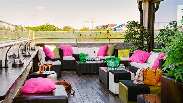 Rooftop bar Stockholm Scandic Anglais in Stockholm