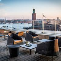 Rooftop bar Stockholm Capital at Scandic Continental in Stockholm