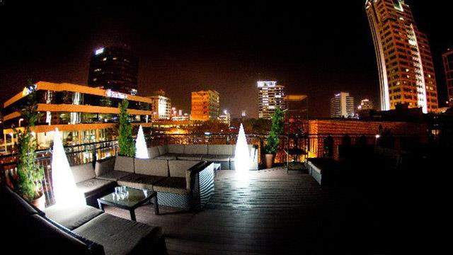 Rooftop bar Tampa Push Ultra Lounge in Tampa Bay