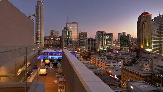 Rooftop At The Brown Tlv Hotel Rooftop Bar In Tel Aviv Therooftopguide Com