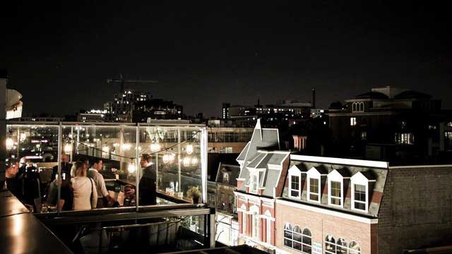 Charlotta Bar at the Beverley Hotel - Rooftop bar in ...