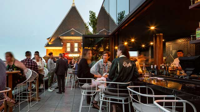 The Rooftop at the Broadview Hotel - Rooftop bar in ...
