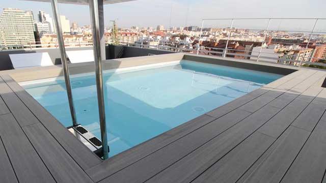 270º Terrace At Barceló Valencia Rooftop Bar In Valencia