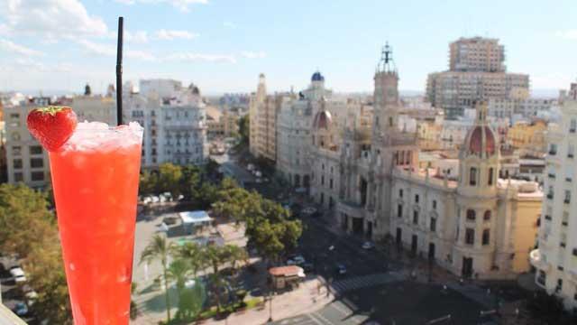 Ateneo Sky Bar Restaurant Rooftop Bar In Valencia The
