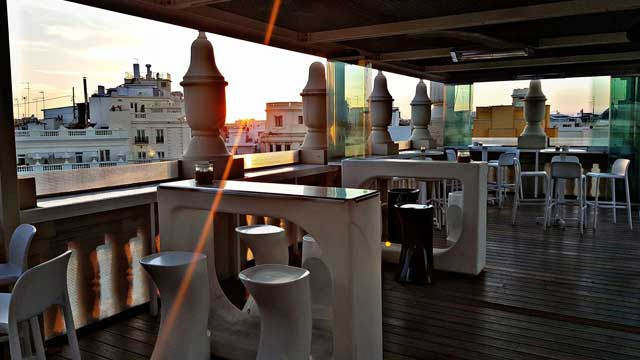 Ateneo Sky Bar Restaurant Rooftop Bar In Valencia The