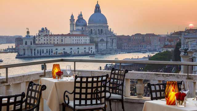 Restaurant Terrazza Danieli Rooftop Bar In Venice The