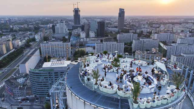 The View - Rooftop bar in Warsaw | The Rooftop Guide