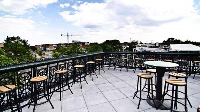 Rooftop bar Washington Brixton in Washington