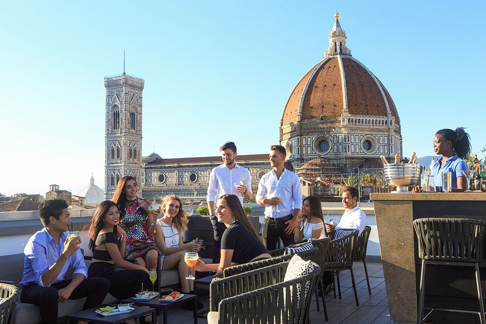 Divina Terrazza One Of The Best View Spots In Florence