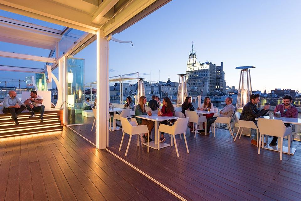 5 Best Winter Open Rooftop Bars In Madrid Open All Year