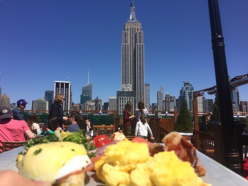Rooftop Brunch New York