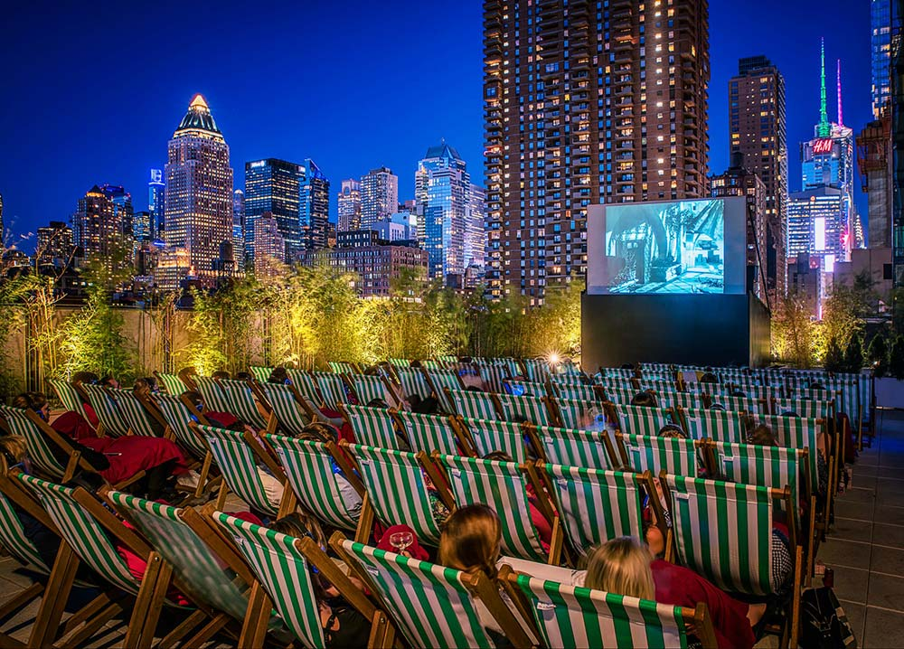 The 4 Best Rooftop Cinema in NYC [complete with all info]