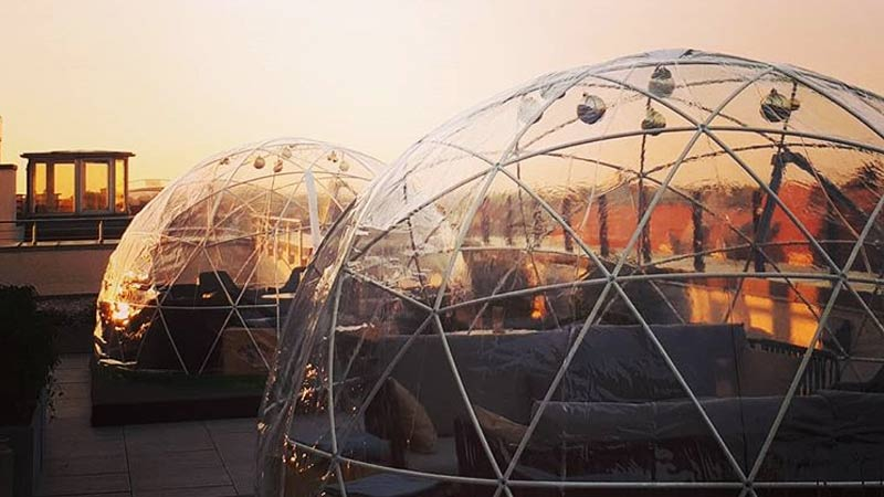 Rooftop Igloos On Rooftop Bars 2018 19 Complete List