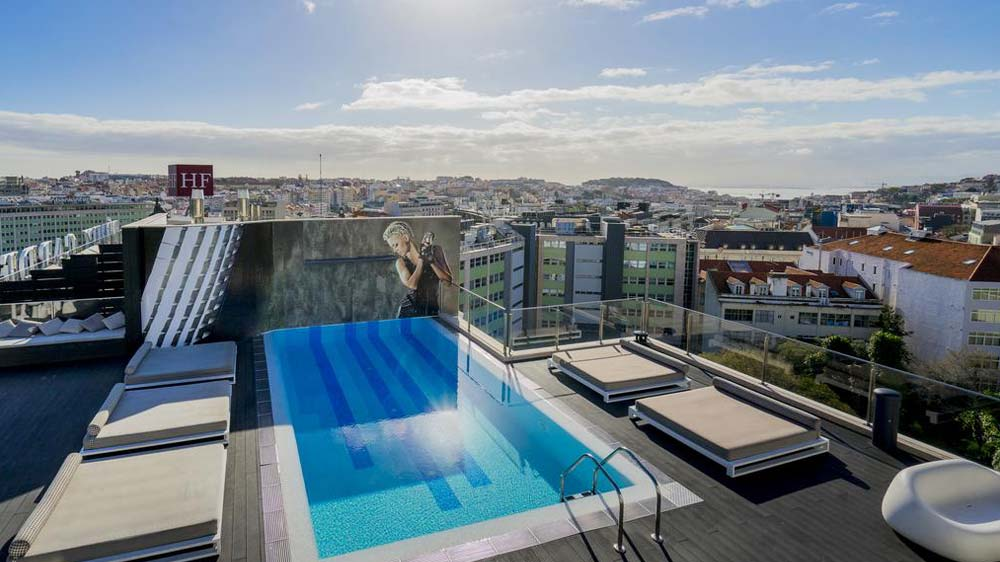 The 5 best rooftop pools lisbon with complete info for Hotel design lisbona