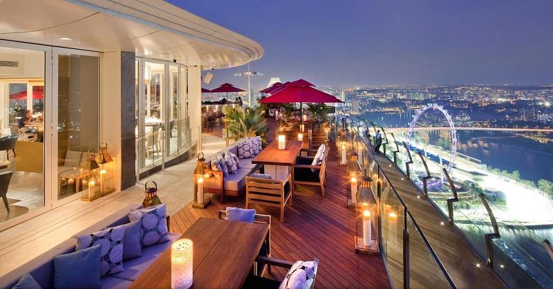 Rooftop Restaurants Singapore