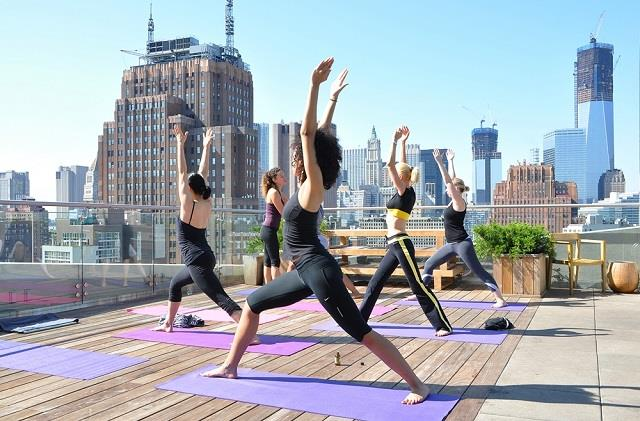 Rooftop Yoga In Nyc Complete With All Info
