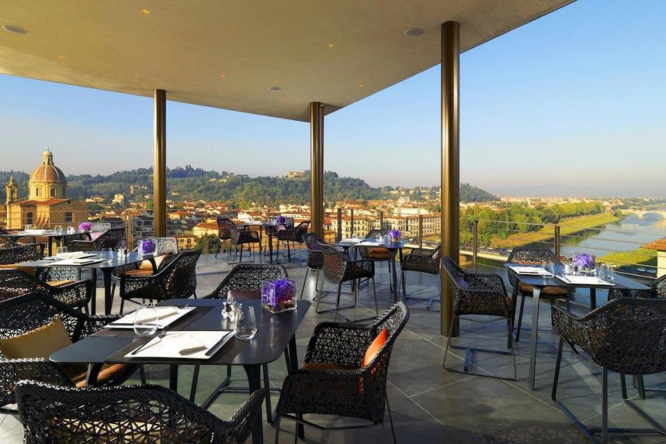italian rooftop restaurant
