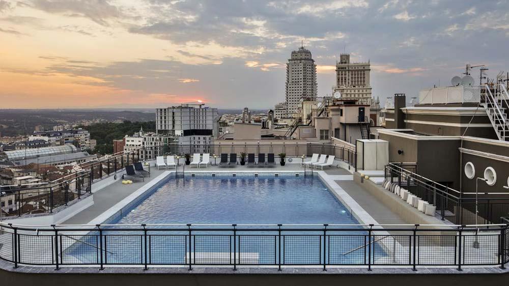 The 5 Best Rooftop Pools Madrid 2020 Update