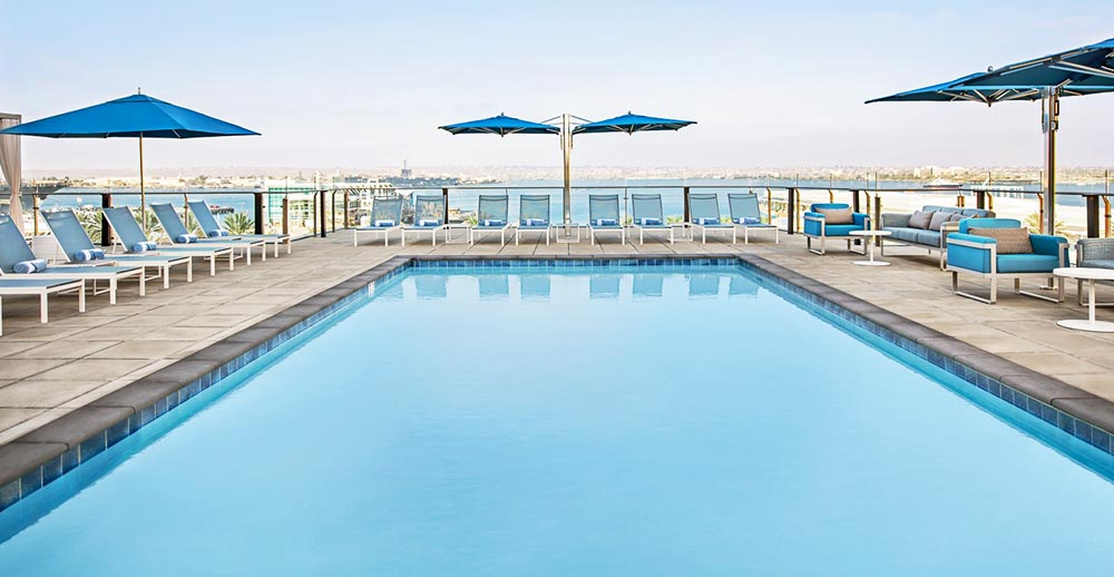 8 Best Rooftop Pools In San Diego 2021 Update